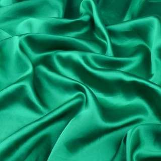 Шелк натуральный  зеленый ш.300