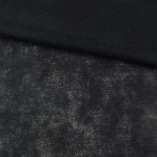 Флизелин неклеевой (спанбонд) черный, плотность 30, ш.160