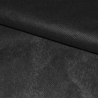 Флизелин неклеевой (спанбонд) черный, плотность 50, ш.160
