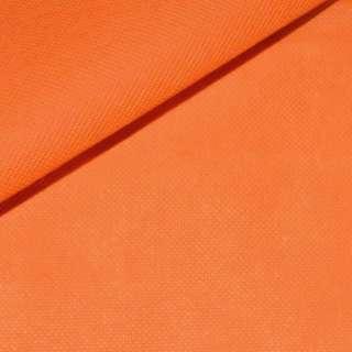 Флизелин неклеевой (спанбонд) оранжевый, плотность 70, ш.160