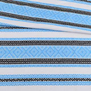 Ткань с украинским орнаментом Диана, раппорт 30см, ш.150