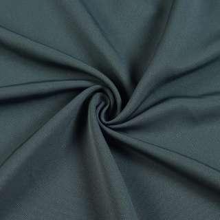 Креп жоржет серый темный