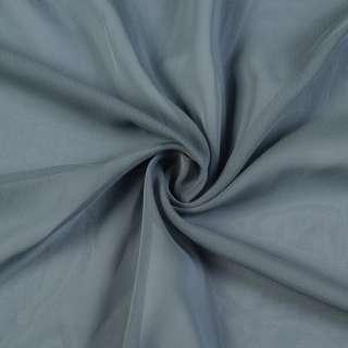 Шифон хамелеон серый