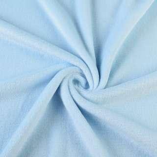 Велсофт двухсторонний голубой ш.185