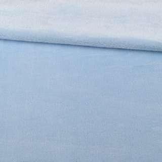 Велсофт двухсторонний голубой, ш.180