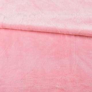 Велсофт двухсторонний розовый светлый, ш.180