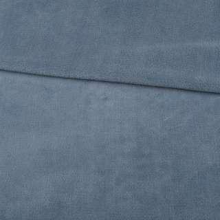 Велсофт двухсторонний серо-голубой, ш.180