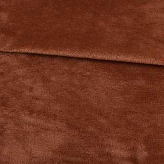 Велсофт двухсторонний коричневый светлый ш.185