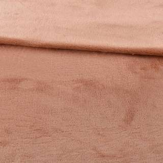 Велсофт двухсторонний бежевый с розовым отливом, ш.200