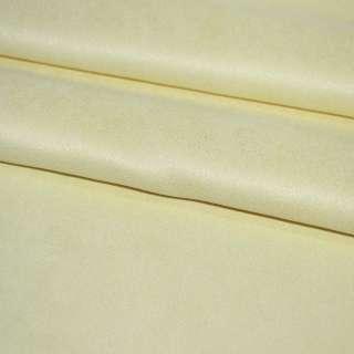 замша желтая однотонная, ш.130