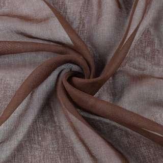 Лен французский коричневый с рыжим оттенком, ш.280