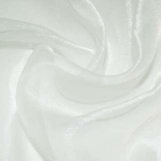 Мусс органза гардинная молочная, ш.280