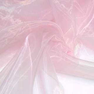 Органза тюль розовая, ш.280