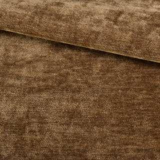 Велюр двухсторонний коричневый коньячный ш.280