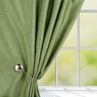 Жаккард для штор диагональный рельеф меланж зеленый, ш.280