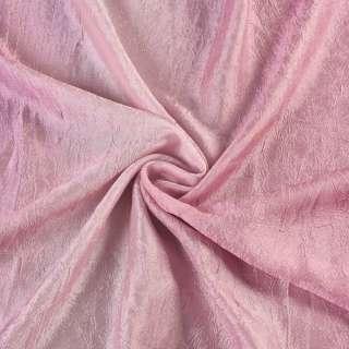 Креш портьерный радуга сиренево-розовая ш.280