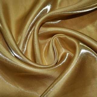 Кристаллон портьерный горчично-золотистый ш.280