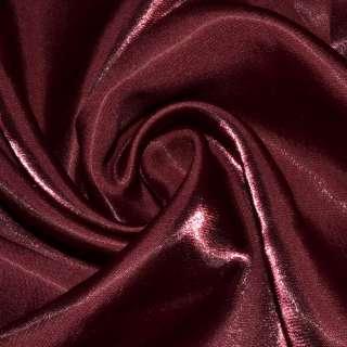 Кристаллон портьерный бордовый ш.280