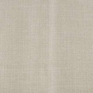 Лен блэкаут для штор молочно-серый (на акриловой подложке), ш.280