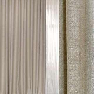 Блэкаут-лен серый светлый с бежевым оттенком ш.280