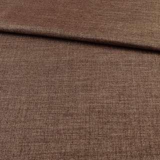 Блэкаут лен коричнево-бежевый ш.280