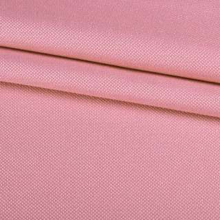 Рогожка мелкая блэкаут (софт изнанка) розовая ш.280