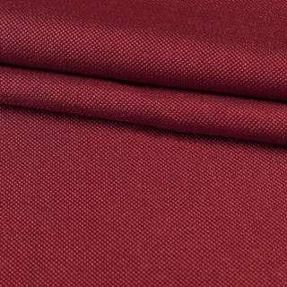 Рогожка мелкая блэкаут (софт изнанка) бордовая ш.280