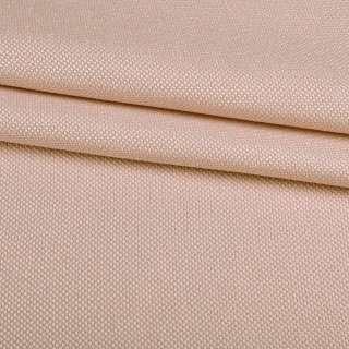 Рогожка мелкая блэкаут (софт изнанка) кремовая ш.280