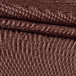 Рогожка мелкая блэкаут (софт изнанка) коричневая ш.280