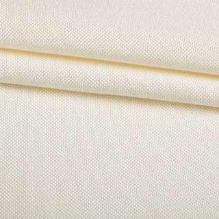 Рогожка мелкая блэкаут (софт изнанка) молочная ш.280