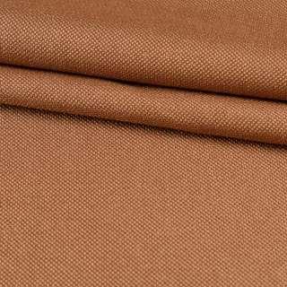 Рогожка мелкая блекаут (софт изнанка) коричневая коньячная ш.280