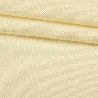 Рогожка мелкая блэкаут (софт изнанка) сливочная ш.280
