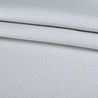 Рогожка мелкая блэкаут (софт изнанка) серый небесный ш.280