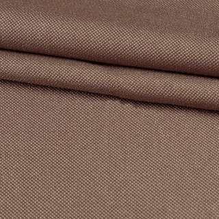 Рогожка мелкая (софт изнанка) коричневая светлая ш.280