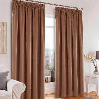 Софт блэкаут гладкий для штор коричневый с розовым оттенком, ш.280