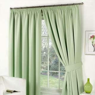 Софт блэкаут гладкий для штор зеленый светлый, ш.280