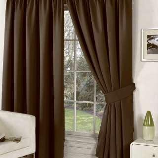 Софт блэкаут гладкий для штор коричневый темный, ш.280