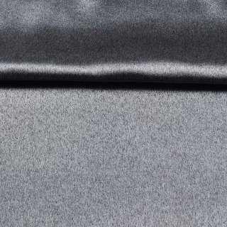 Софт блэкаут меланж с блеском серый (антрацит) ш.280