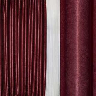 Софт блэкаут муаровый с блеском бордовый темный, ш.280