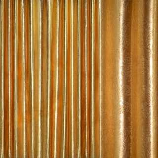 """Блэкаут золото крупный """"испанский дворик"""" ш.280"""