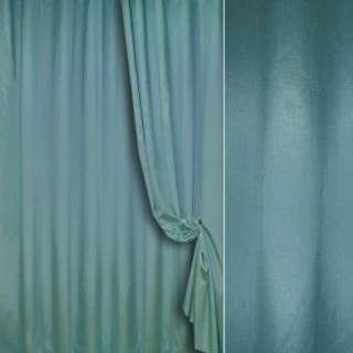 шелк порт. (иск) св.синий с серым ш.280 см.