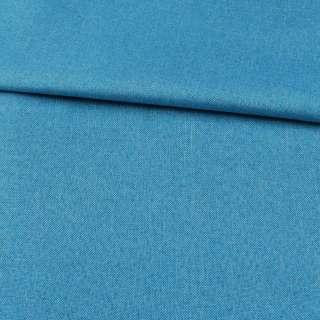 Рогожка голубая дублированная (на войлочной основе), ш.150