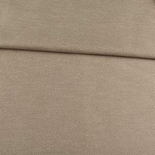 Рогожка интерьерная твидовая с шелковым отливом бежевый, ш.142