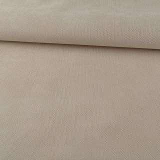 Шенилл мебельный бежевый молочный узкий, ш.55