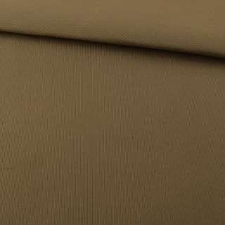 Ткань для сидений автомобиля бежевая на поролоне 3 мм, ш.150