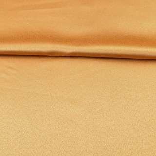 ткань скатертная золотисто-желтая с атласным блеском, ш.320