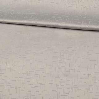 Жаккард скатертный штрихи рельефные серый светлый, ш.320