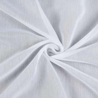 Батист гардинный белый, с утяжелителем, ш.180