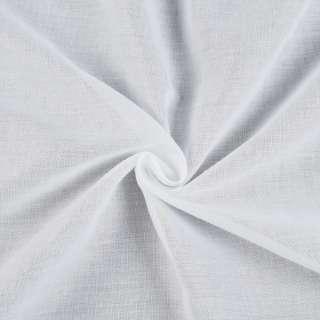 Батист гардинный белый с утяжелителем, ш.300