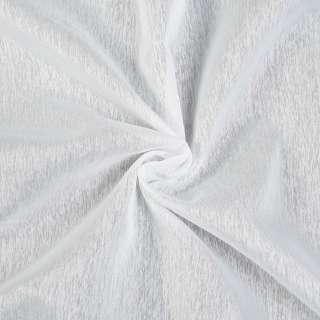 Креп гардинный штрихи молочный с утяжелителем, ш.260